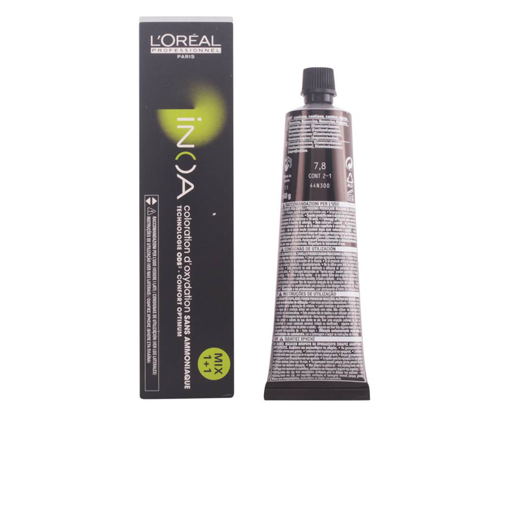 L'Oreal Expert Professionnel INOA coloration d'oxydation sans amoniaque  #7,8  60 gr