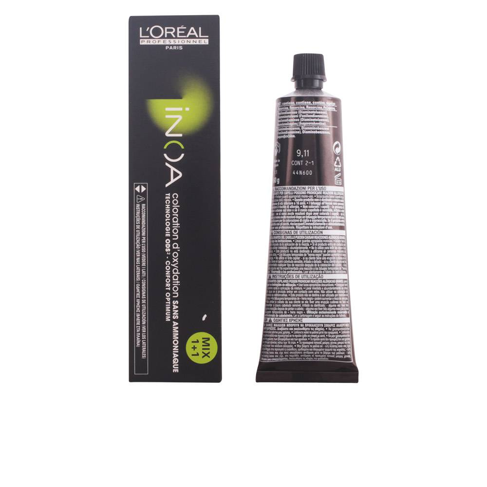 L'Oreal Expert Professionnel INOA coloration d'oxydation sans amoniaque  #9,11  60 gr