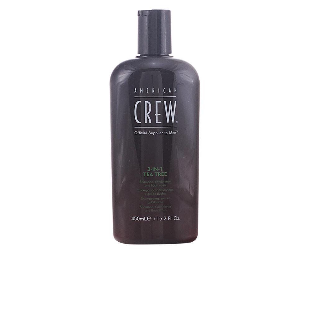 American Crew TEA TREE 3 in 1 shampoo, conditioner and body wash  450 ml
