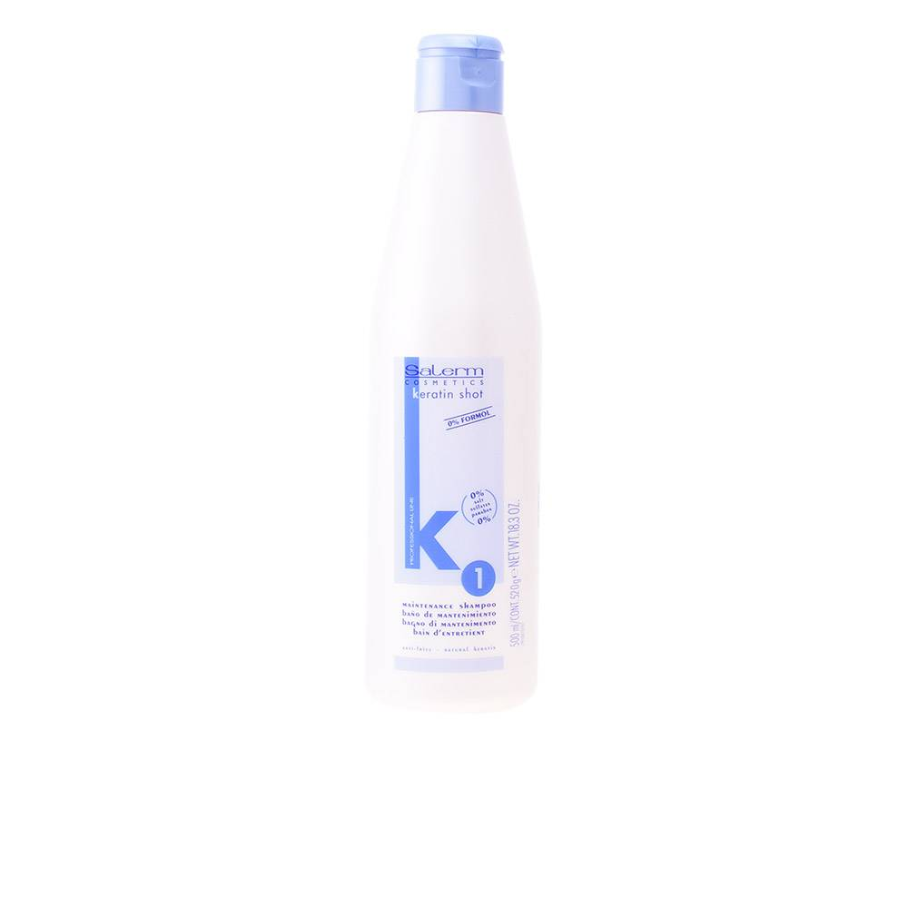 Salerm KERATIN SHOT maintenance shampoo  500 ml