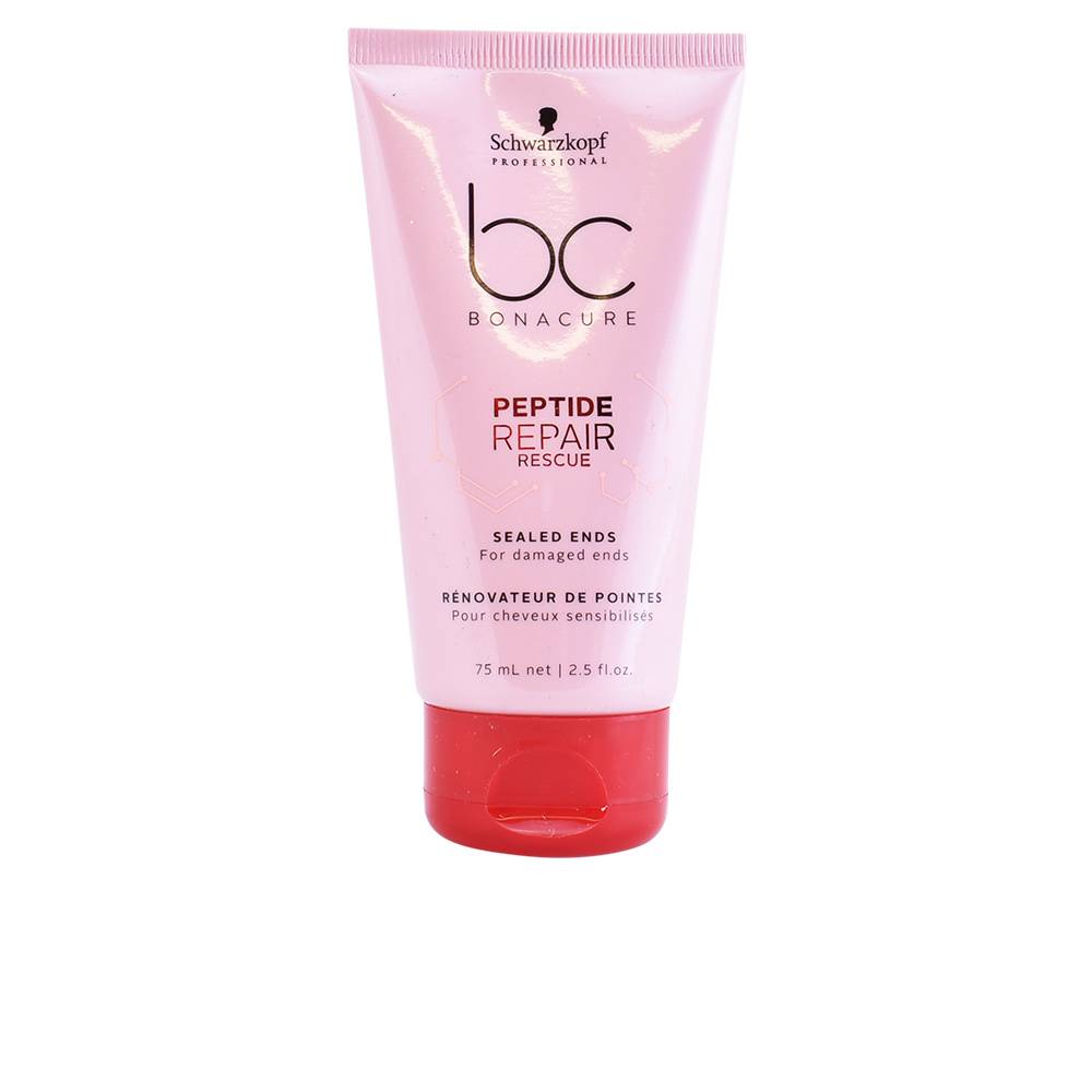 Schwarzkopf BC PEPTIDE REPAIR RESCUE sealed ends  75 ml