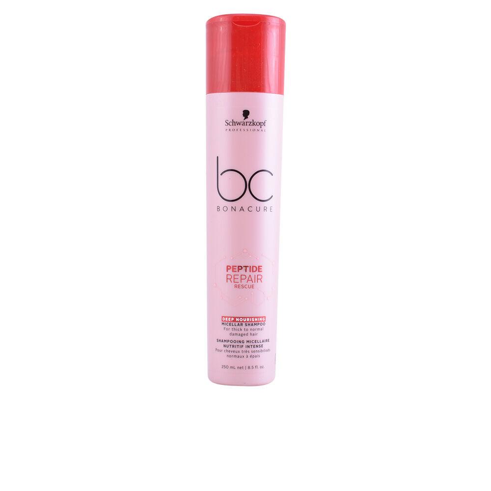 Schwarzkopf BC PEPTIDE REPAIR RESCUE micellar shampoo deep nourishing