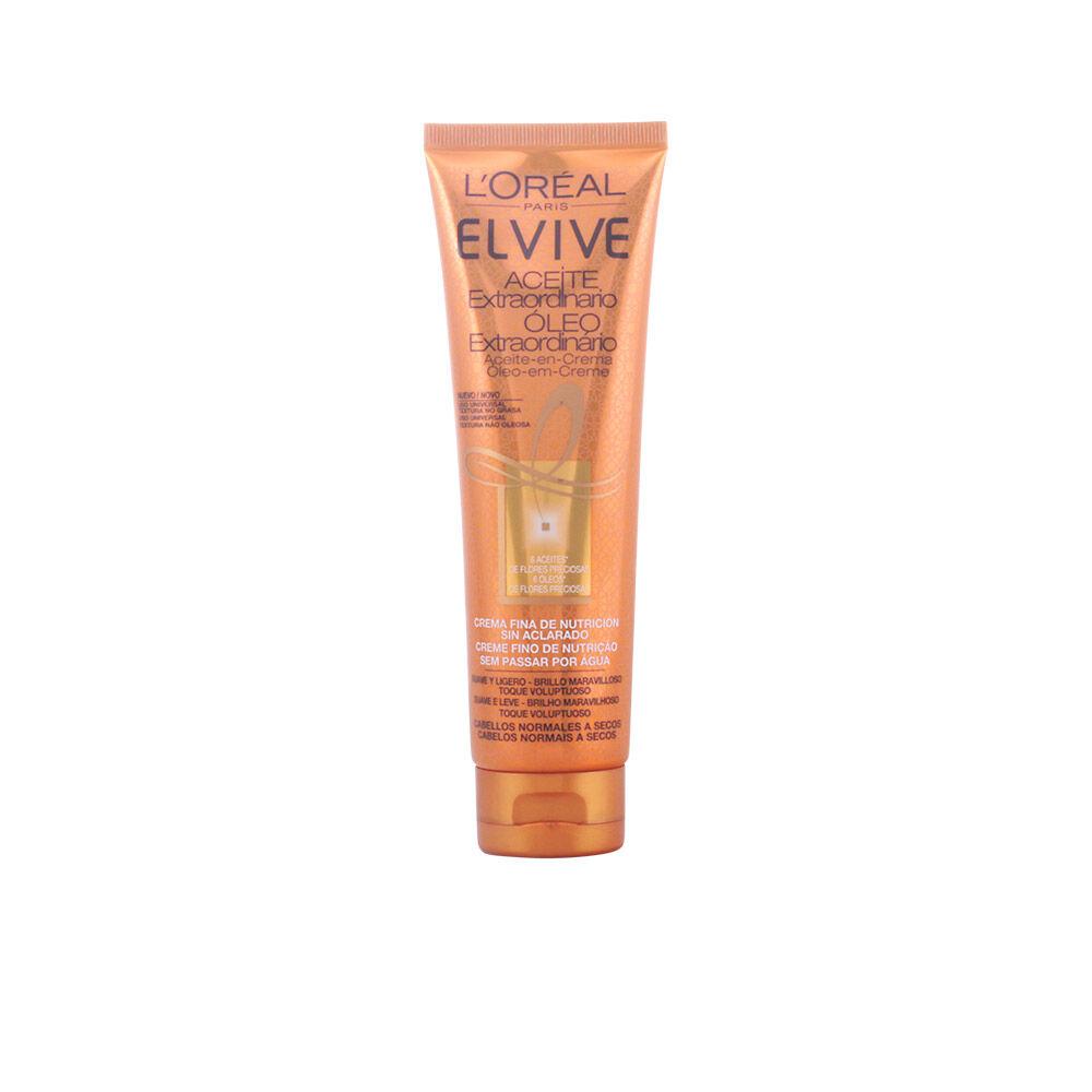 L'Oreal Make Up ELVIVE ACEITE EXTRAORDINARIO crema sin aclarado  150 ml