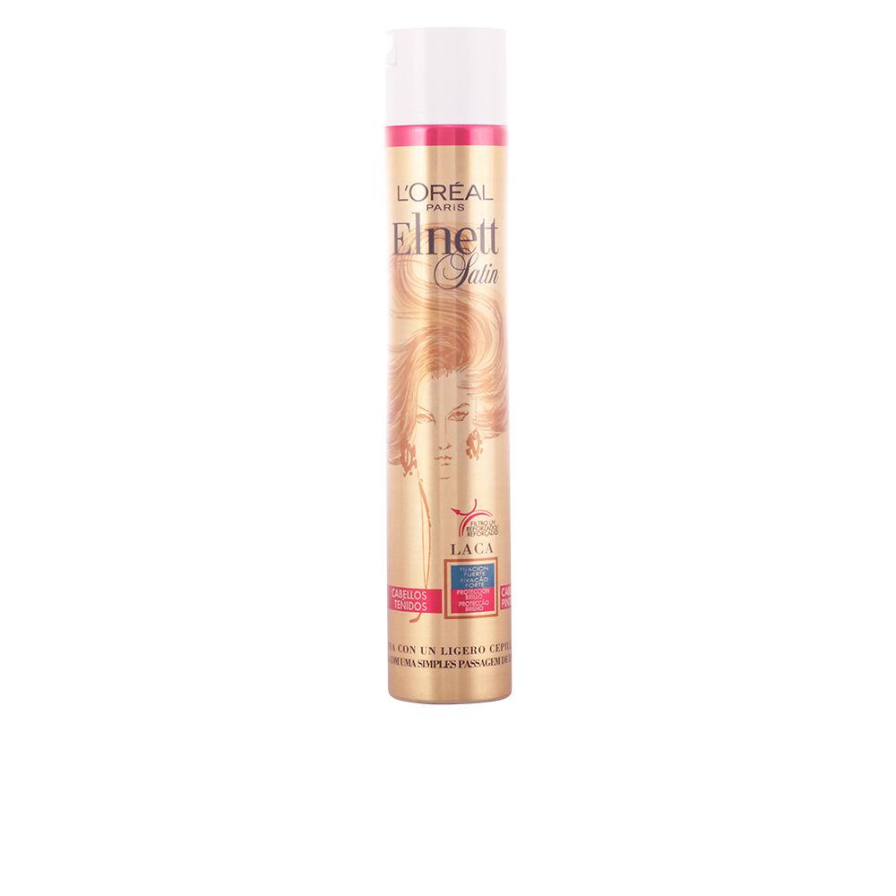 L'Oreal Make Up ELNETT laca fijación fuerte cabellos teñidos  400 ml