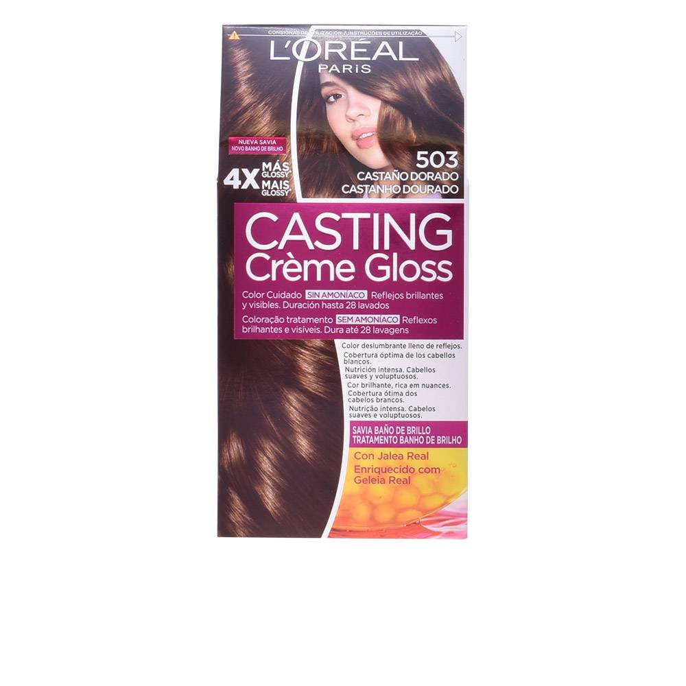 L'Oreal Make Up CASTING CREME GLOSS  #503-golden chocolate