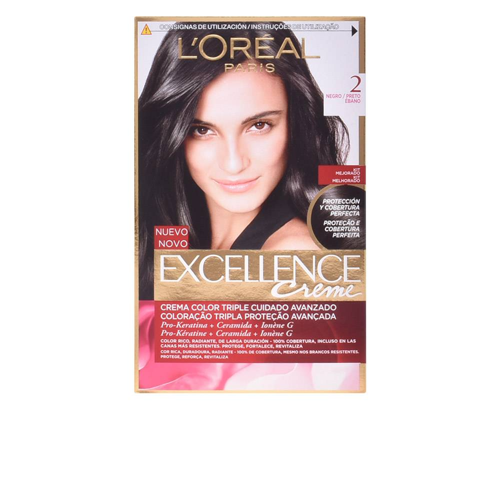 L'Oreal Make Up EXCELLENCE Creme tinte  #2-negro