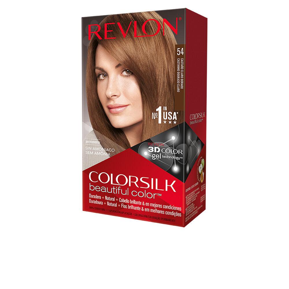 Revlon COLORSILK tinte  #54-castaño claro dorado