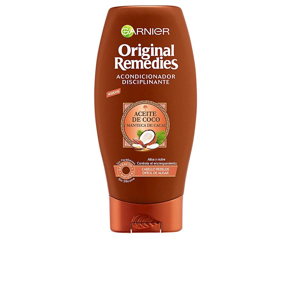 Garnier ORIGINAL REMEDIES acondicionador aceite coco y cacao  300 ml