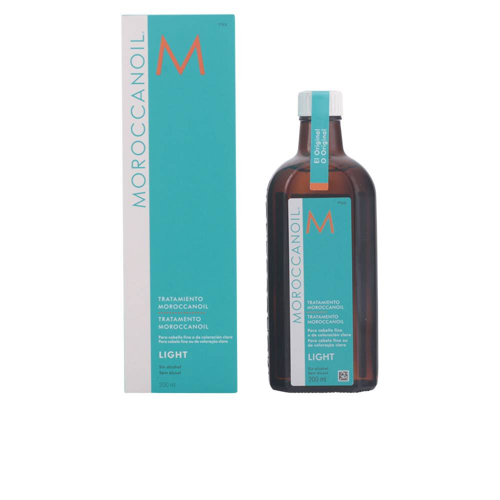 Moroccanoil LIGHT oil treatment for fine & light colored hair  200 ml