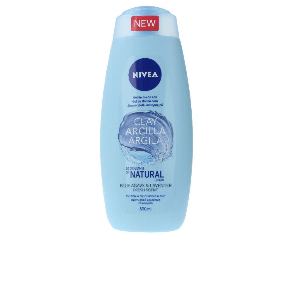 Nivea ARCILLA BLUE AGAVE & LAVENDER shower gel  500 ml