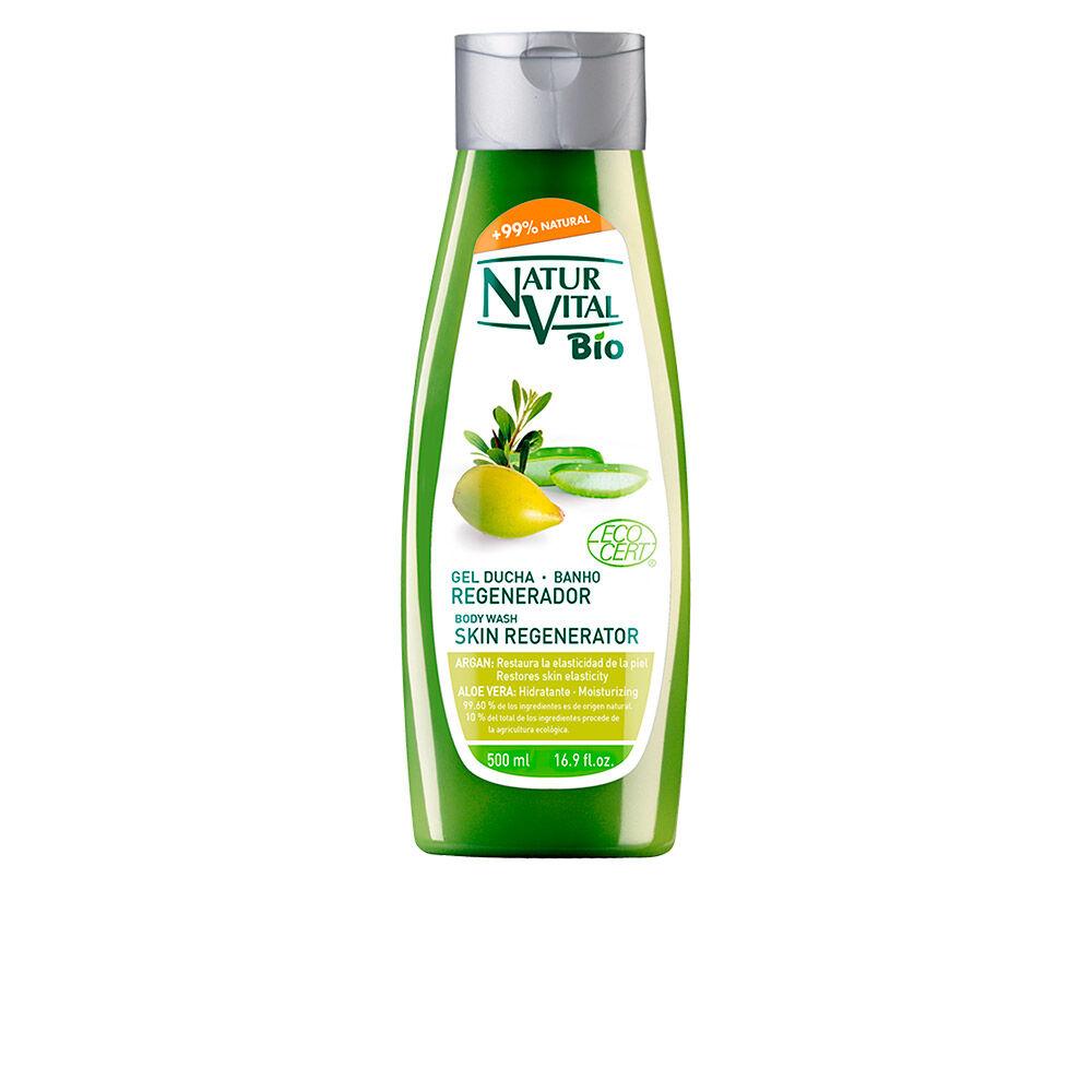 Naturaleza Y Vida shower gel BIO ECOCERT regenerador argán & aloe vera  500 ml