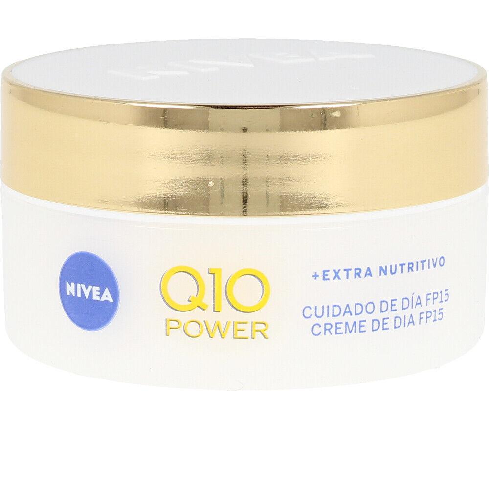 Nivea Q10+ POWER anti-arrugas+extra nutritivo SPF15  50 ml