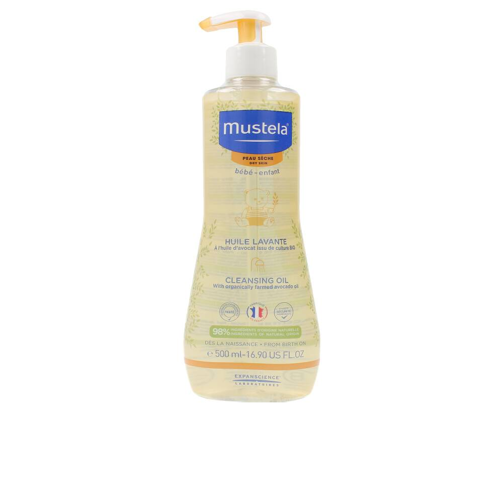 Mustela BÉBÉ huile lavante peau séche  500 ml