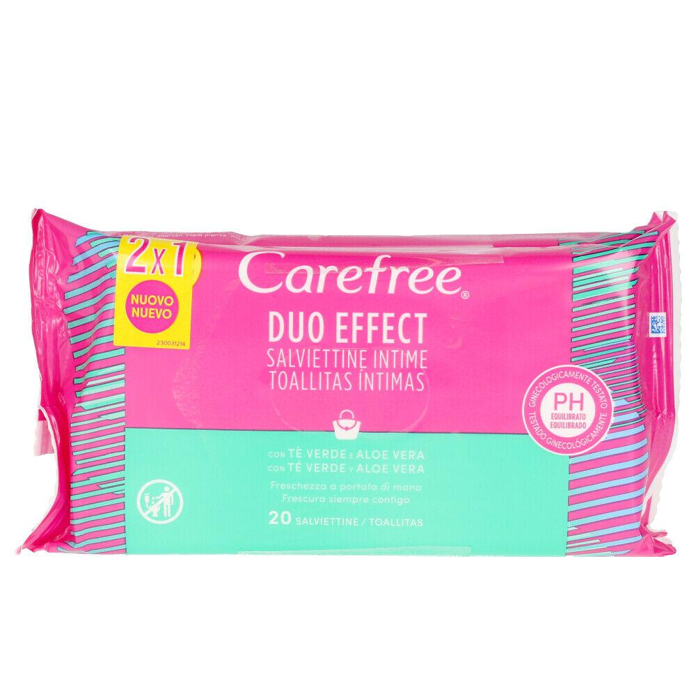 Carefree ALOE VERA toallitas íntimas 2x20 uds