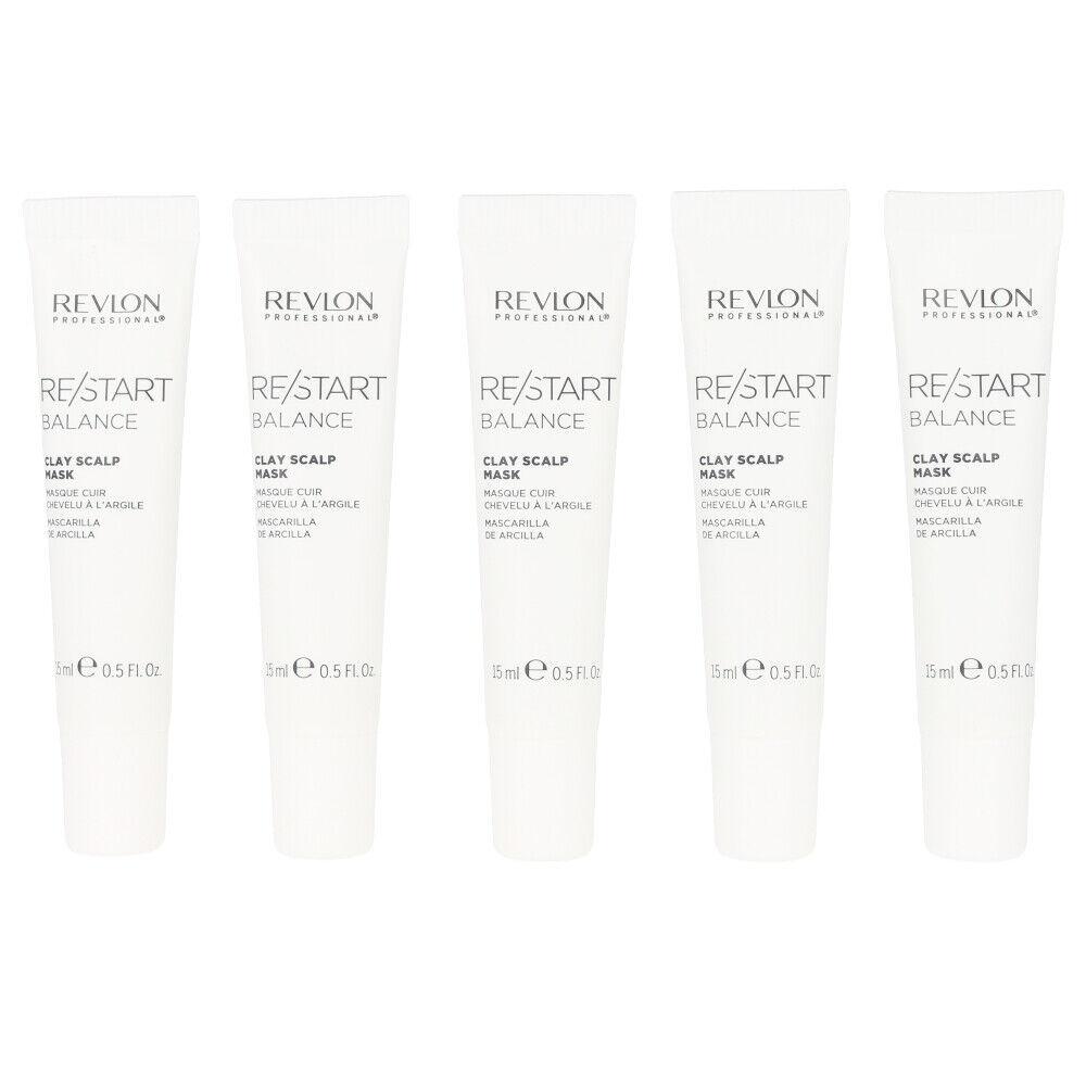 Revlon RE-START balance clay scalp mask 10x 15 ml