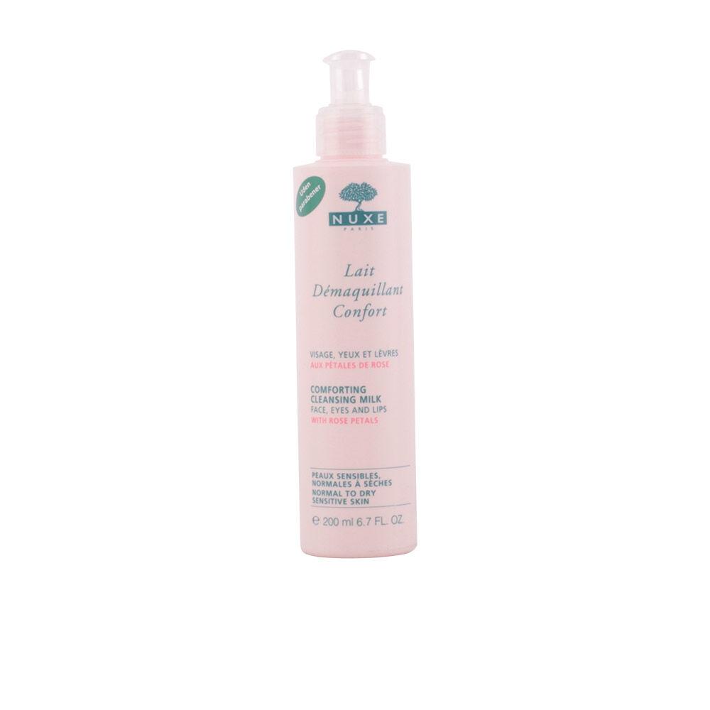 Nuxe PÉTALES DE ROSE lait démaquillant confort  200 ml