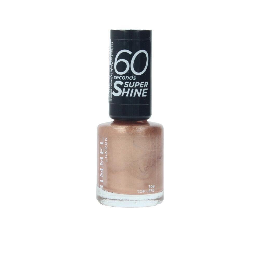 Rimmel London 60 SECONDS super shine  #709-top less 8 ml