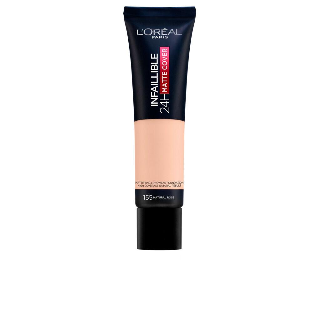 L'Oreal Make Up INFAILLIBLE 24H matte cover foundation  #155-natural rose