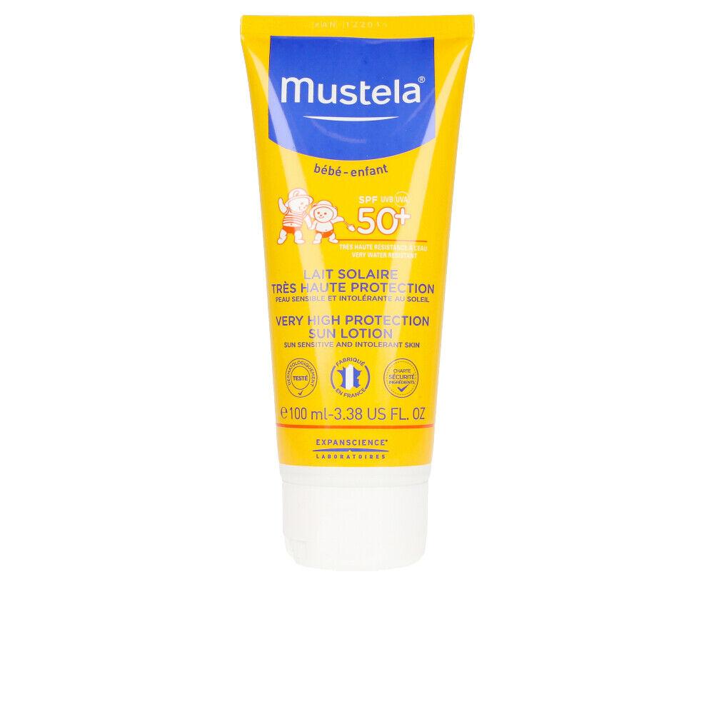 Mustela BÉBÉ SOL lait solaire IP50+  100 ml