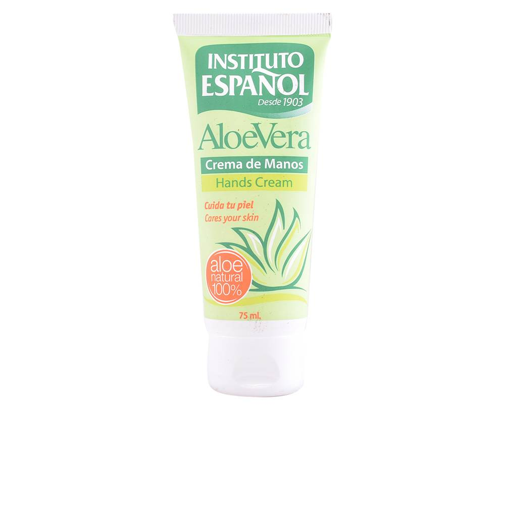 Instituto Español ALOE VERA crema de manos tubo  75 ml