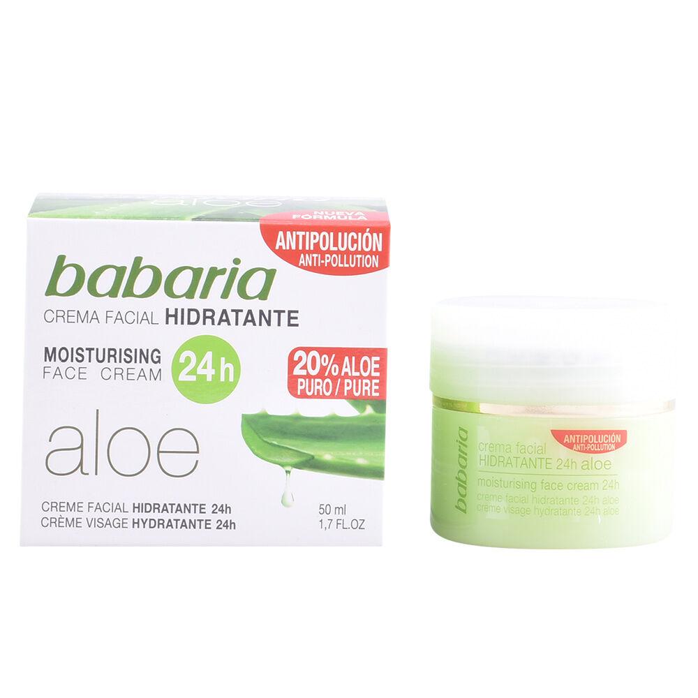 Babaria ALOE VERA crema hidratante 24 horas  50 ml