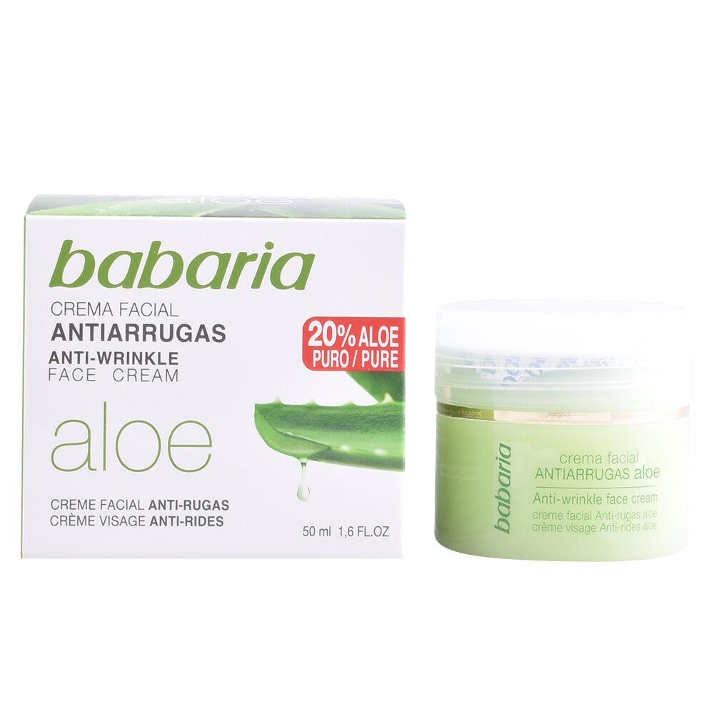 Babaria ALOE VERA crema antiarrugas  50 ml