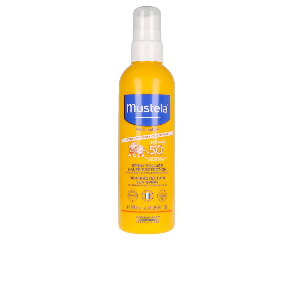 Mustela BÉBÉ SOL Lait Solaire IP50+ Spray 200 ml