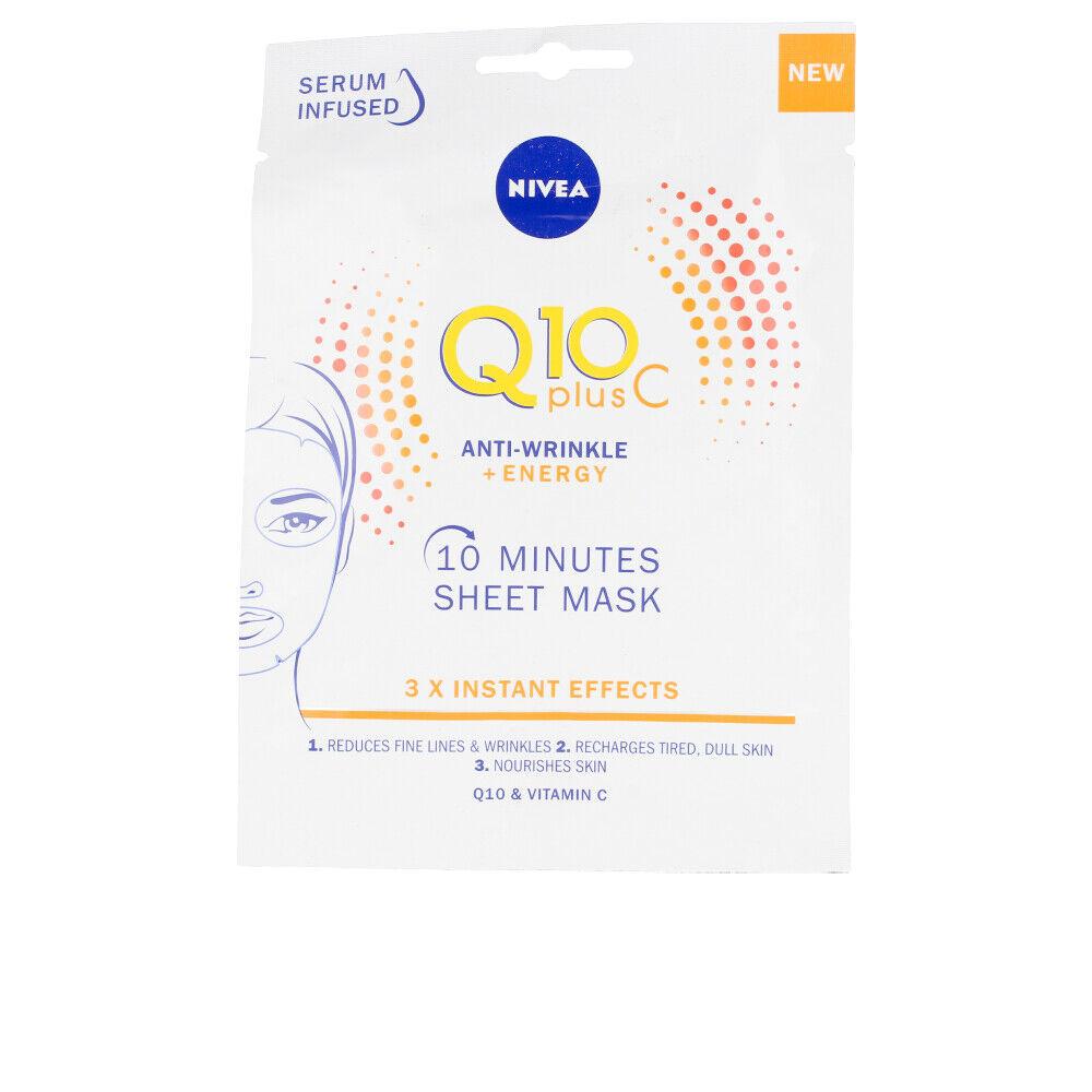 Nivea Q10+ VITAMINA C anti-arrugas+energizing mask facial