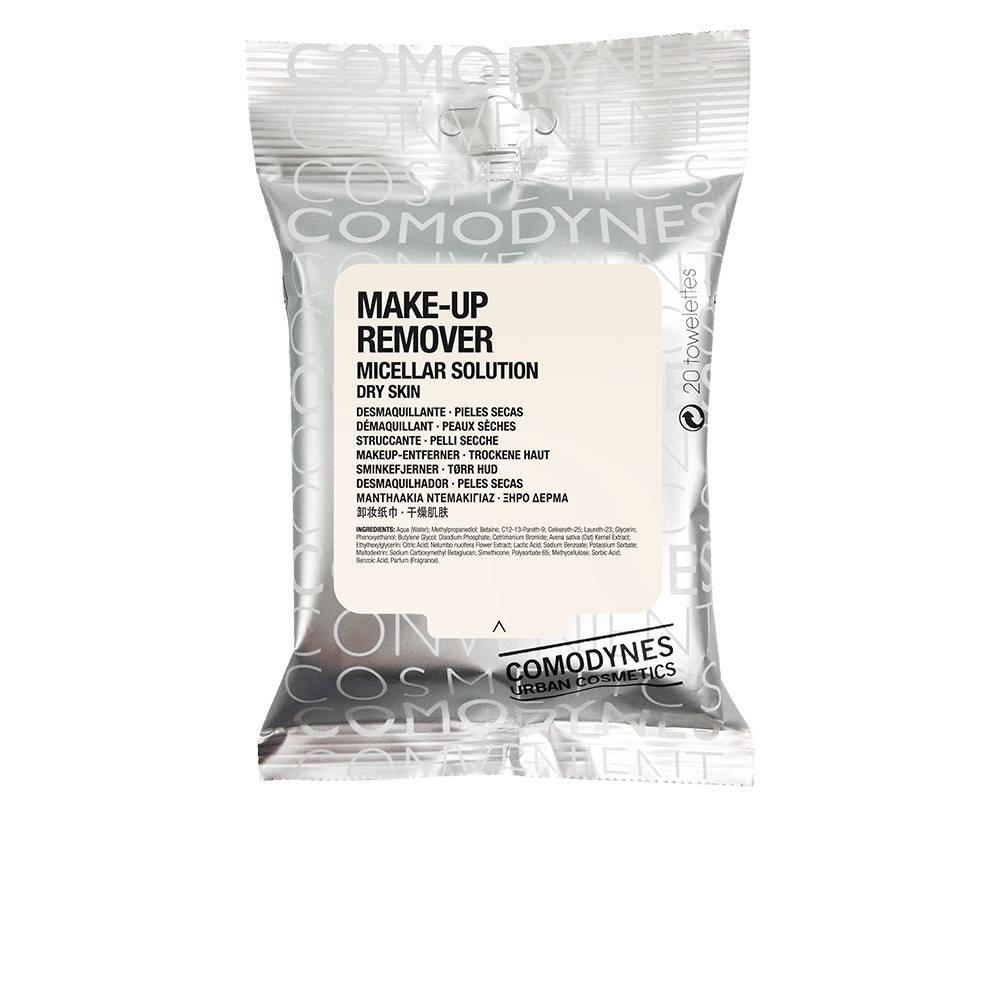 Comodynes MAKE-UP REMOVER micellar solution dry skin 20 uds