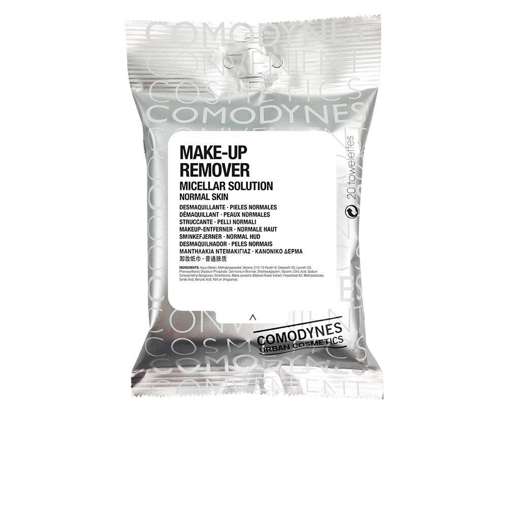 Comodynes MAKE-UP REMOVER micellar solution normal skin 20 uds