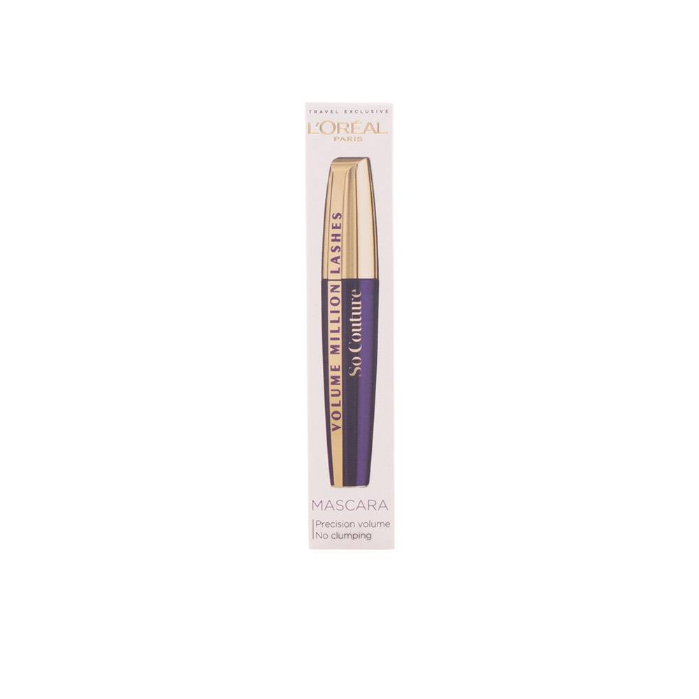 L'Oreal Makeup MASCARA volume million lashes so couture  #black  9 ml
