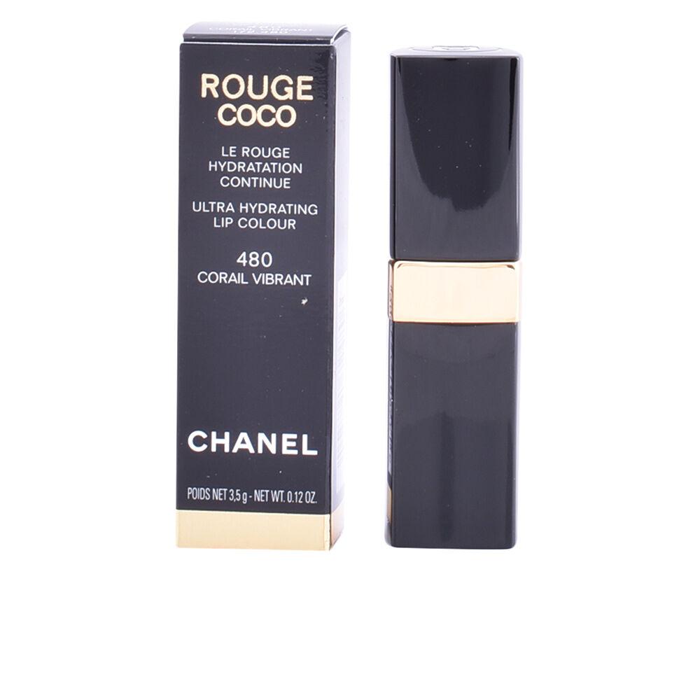 Chanel ROUGE COCO lipstick  #480-corail vibrant 3.5 g