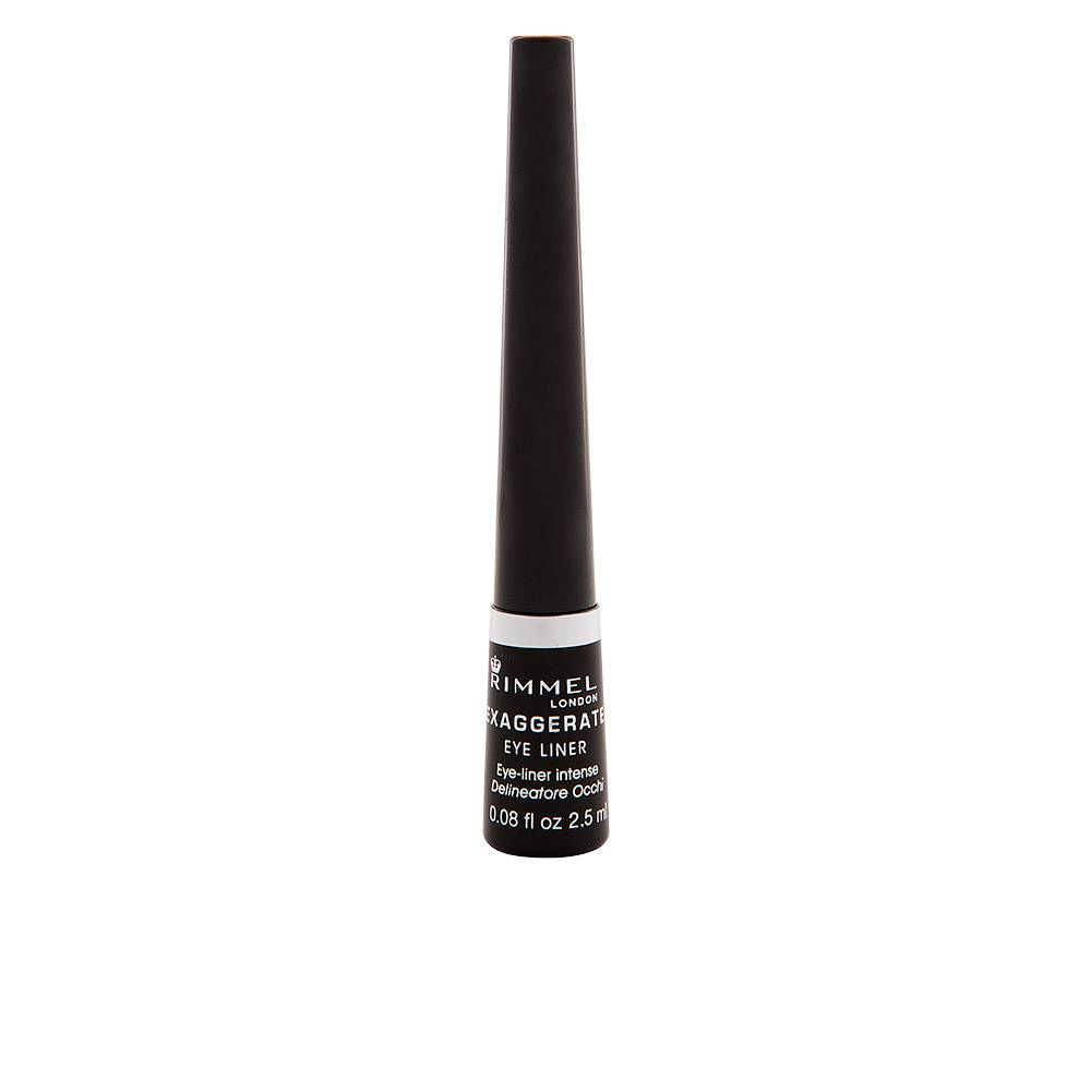 Rimmel London EXAGGERATE liquid eye liner  #001-black