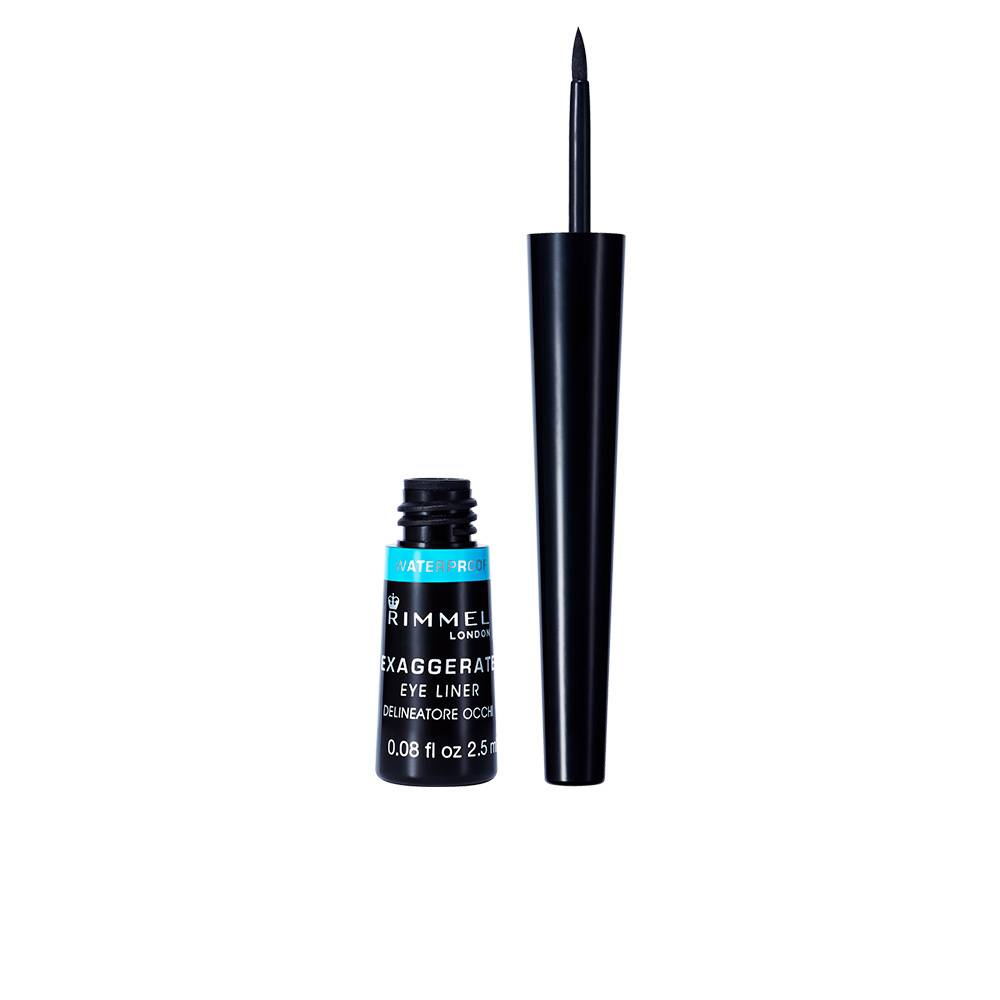 Rimmel London EXAGGERATE liquid eye liner waterproof  #003-black