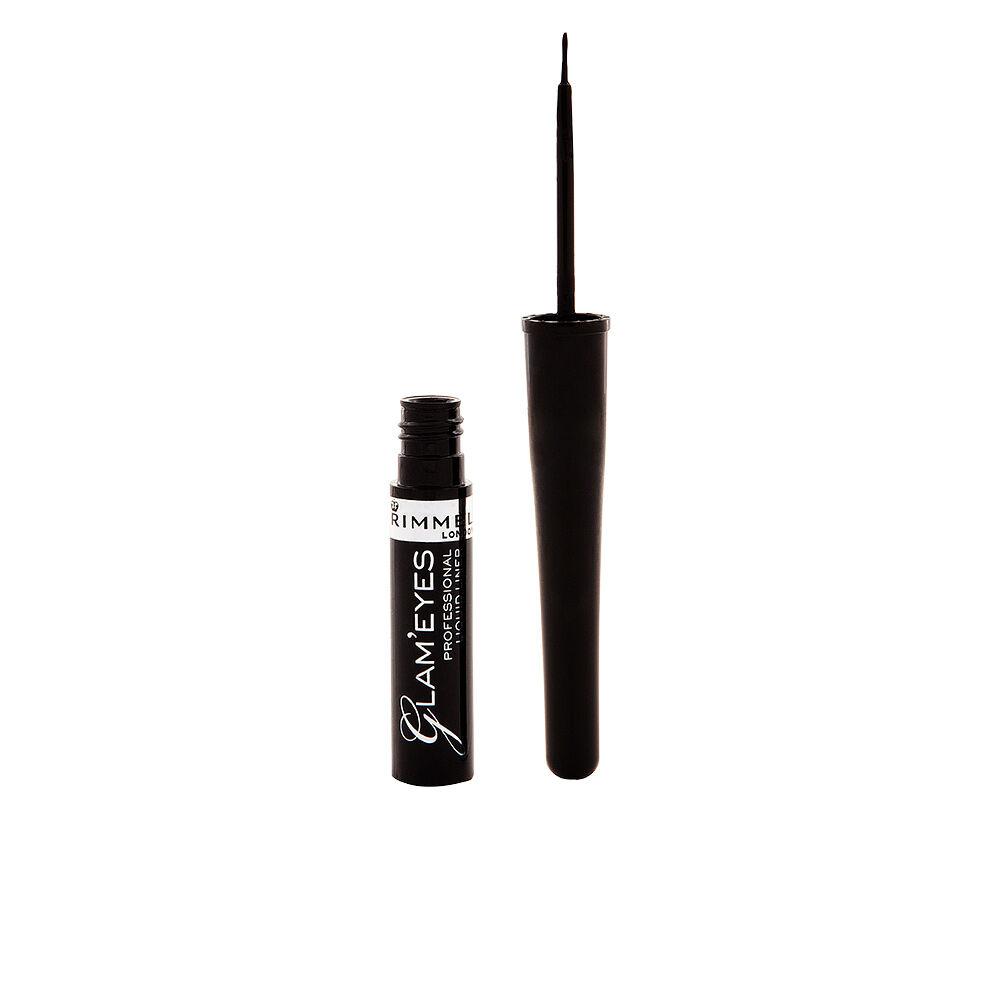 Rimmel London GLAM'EYES PROFESSIONAL liquid eye liner  #001 -black
