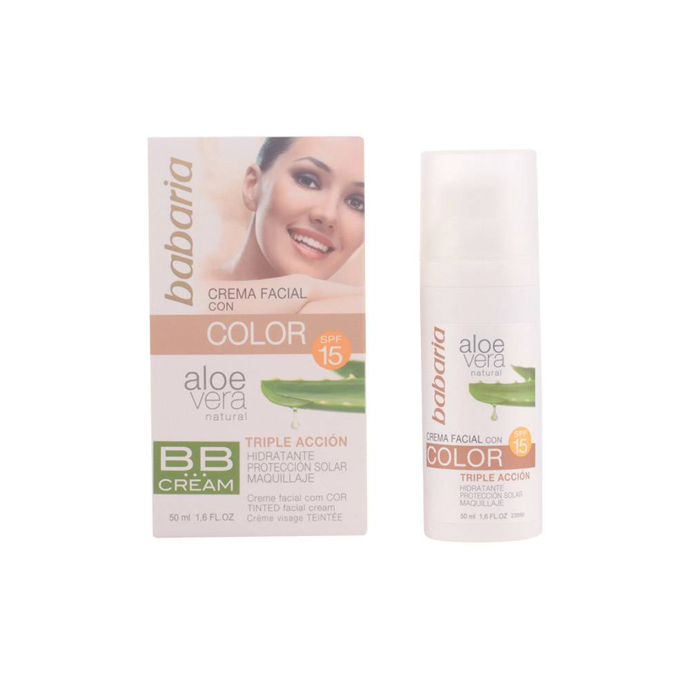 Babaria ALOE VERA BB cream SPF15  50 ml