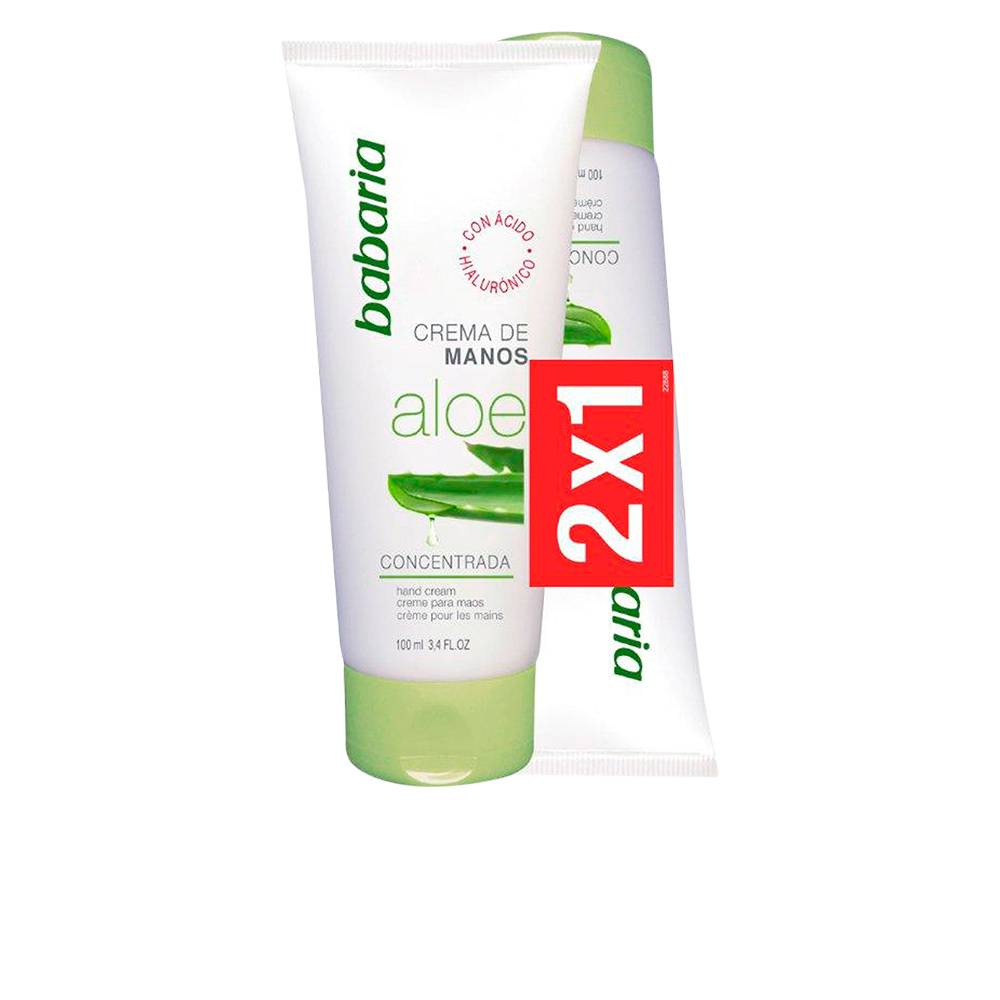 Babaria ALOE VERA CREMA MANOS SET 2 x  100 ml 2 pz