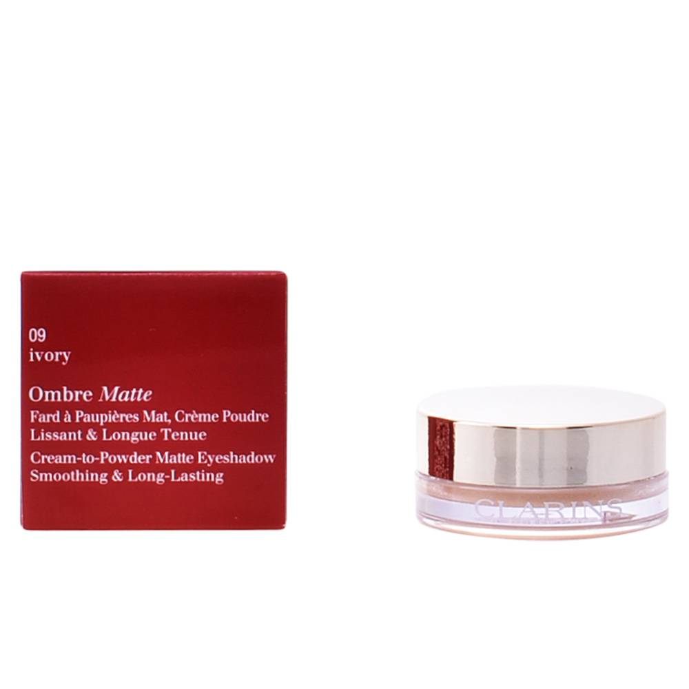 Clarins OMBRE MATTE  #09-ivory 7 g