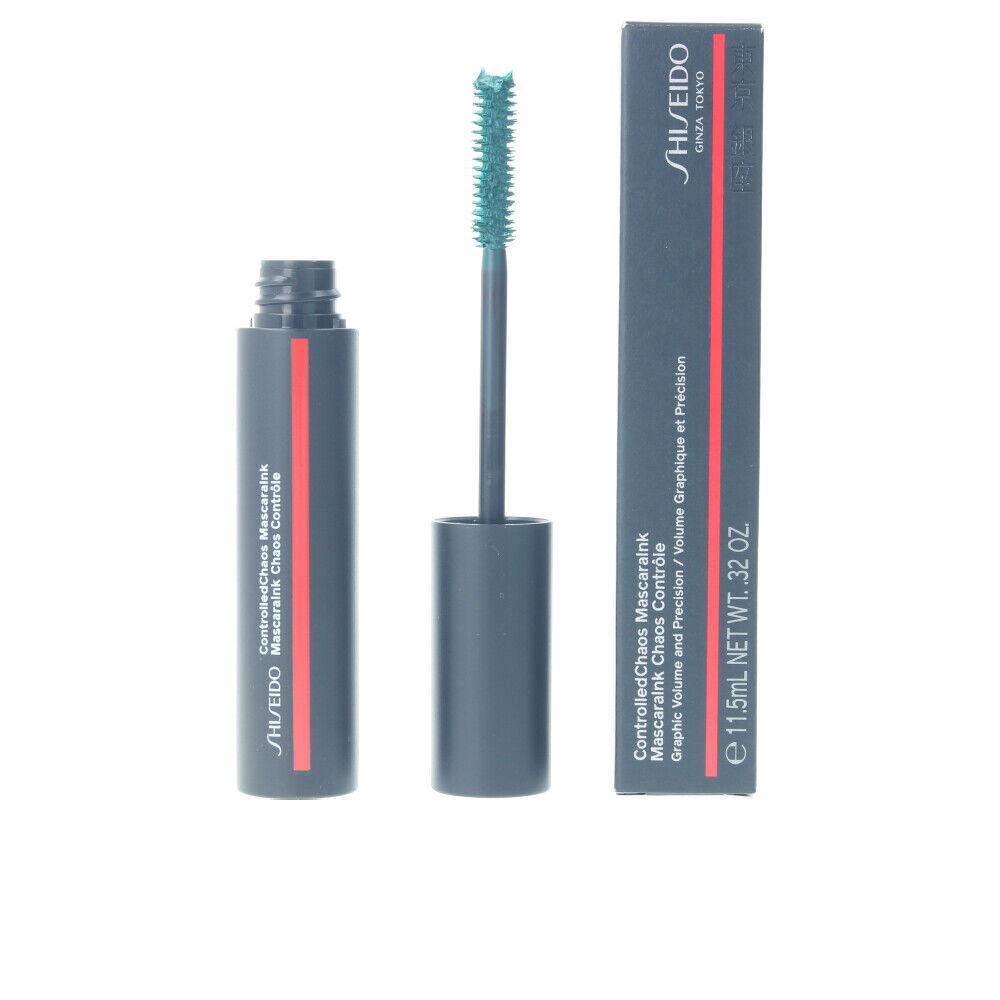 Shiseido CONTROLLED CHAOS mascaraink  #04-emerald energy