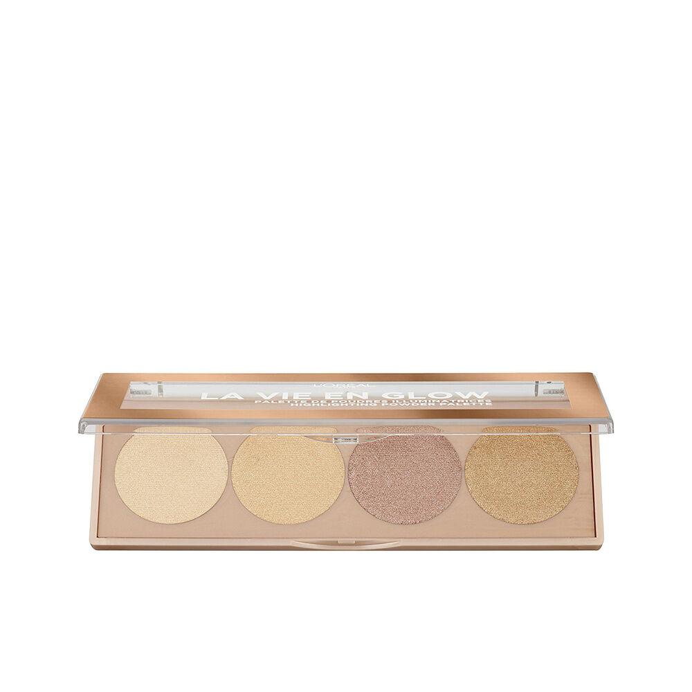 L'Oreal Make Up LA VIE EN GLOW highlighting powder palette  #1-warm glow 5 g