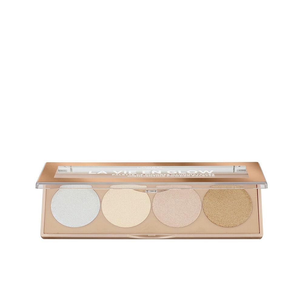 L'Oreal Make Up LA VIE EN GLOW highlighting powder palette  #2-cool glow 5 g