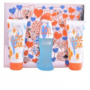 Moschino CHEAP AND CHIC I LOVE LOVE SET  3 pz - Publicité