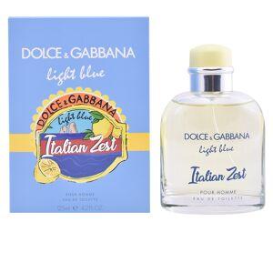 Dolce & Gabbana LIGHT BLUE POUR HOMME ITALIAN ZEST edt spray  125 ml