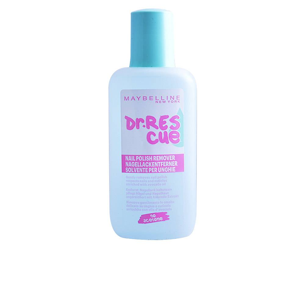Maybelline DR.RESCUE nail polish remover 0% acetone  125 ml