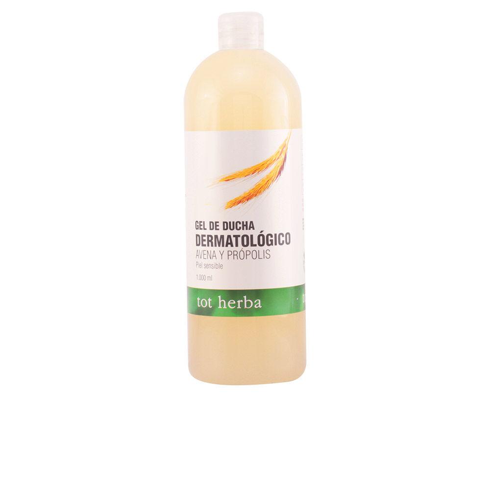 Tot Herba shower gel DERMATOLÓGICO avena y propolis  1000 ml