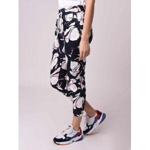 PROJECT X PARIS Pantalon cargo imprimé fleurs Couleur - Noir, Taille - XS - Publicité