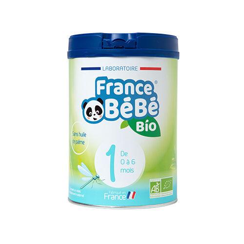 FRANCE BéBé BIO 1 - lait pour nourrissons - De O à 6 mois - 800g