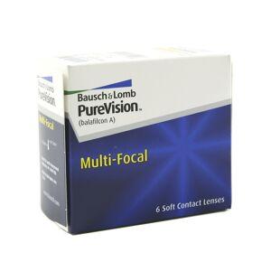 Bausch & Lomb PureVision Multi-Focal -5.00 mensuelles 6 lentilles de contact Bausch & Lomb -5.00 Balafilcon A III 4M (Silicone Hydrogel) - Publicité