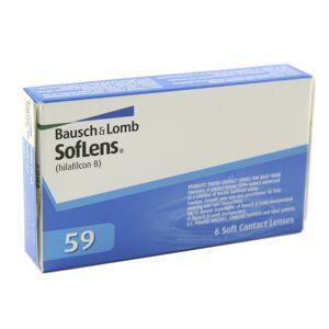 Bausch & Lomb Soflens 59 +5.25 mensuelles 6 lentilles de contact Bausch & Lomb +5.25 Hilafilcon B II - Publicité