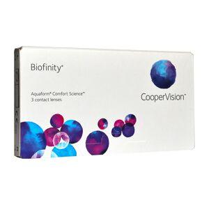 CooperVision Biofinity (Comfilcon) -11.5 mensuelles 3 lentilles de contact CooperVision -11.5 Comfilcon A I 5 (Silicone Hydrogel) - Publicité